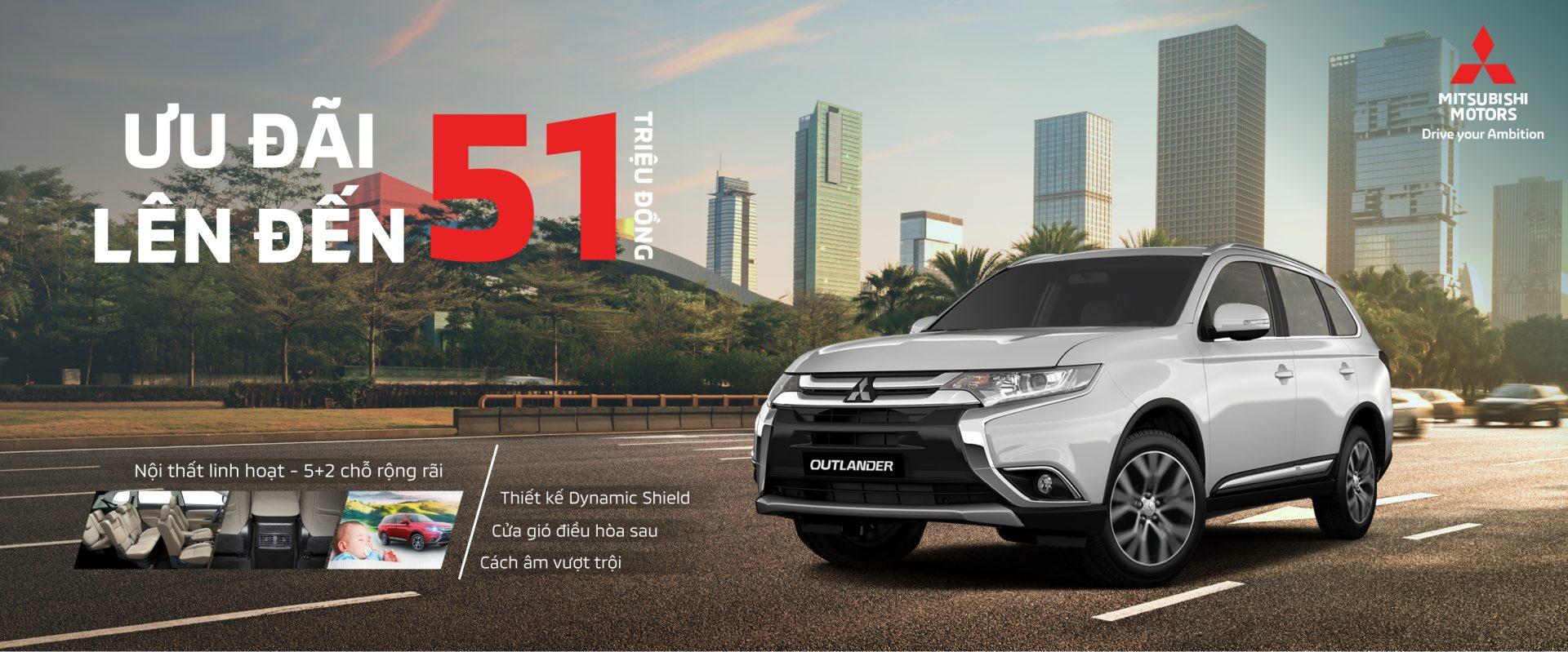 Mitsubishi Nam Miền Trung khuyến mãi tháng 8