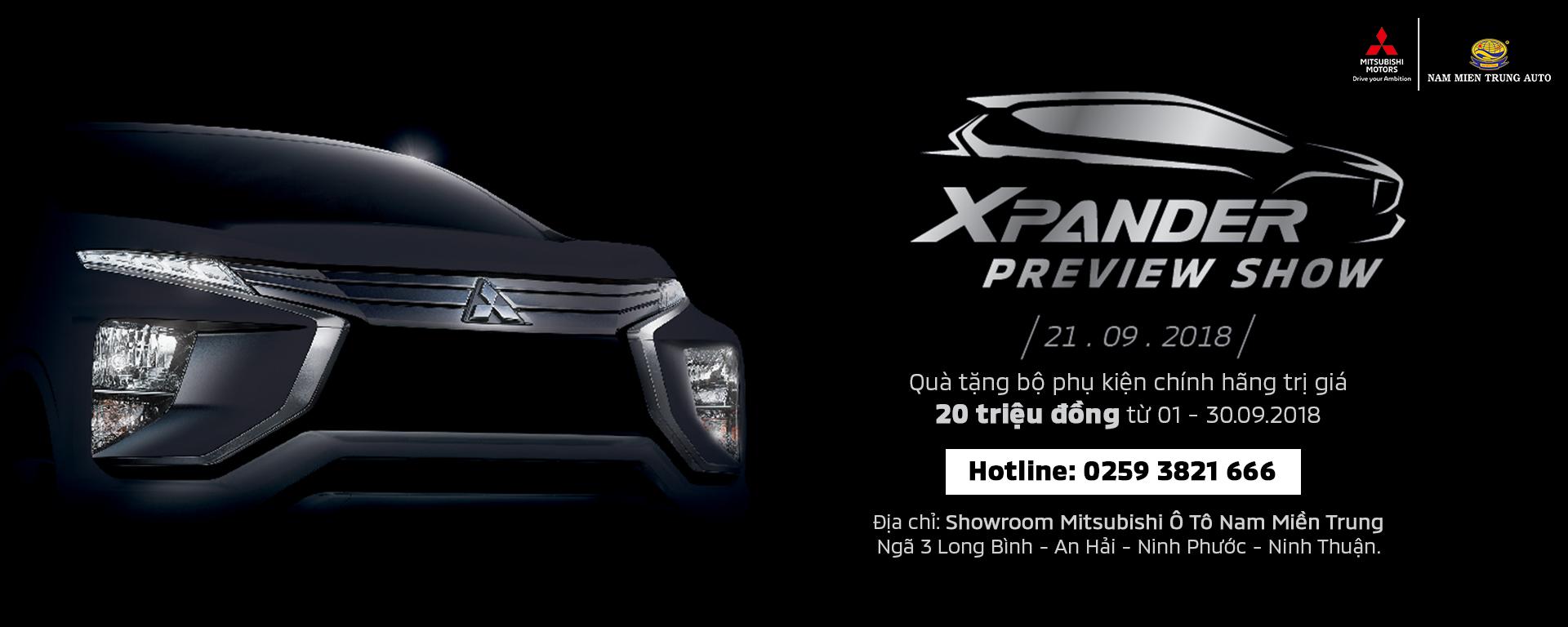 Mitsubishi Xpander Nam Miền Trung Review Show - Trưng bày 21.08.2018