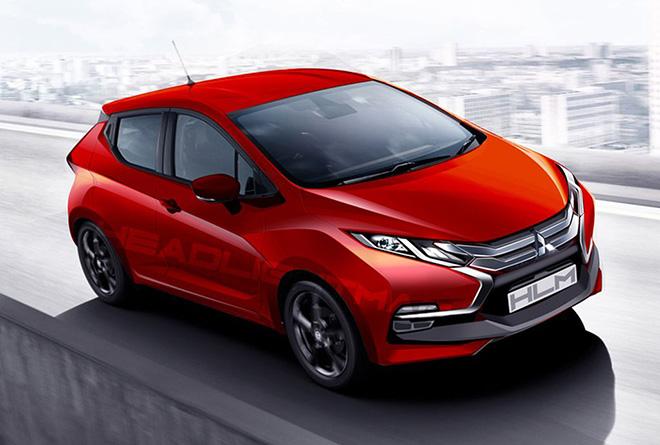 Ngôn ngữ thiết kế Dynamic Shield được áp dụng trên Mitsubishi Mirage thế hệ mới